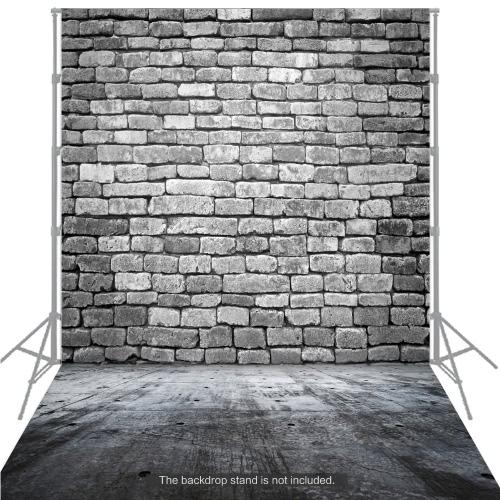 Pavimento di legno di legno classico di modo di Backdrop della priorità bassa di grande priorità bassa di 1.5 * 2m per il professionista dello studio