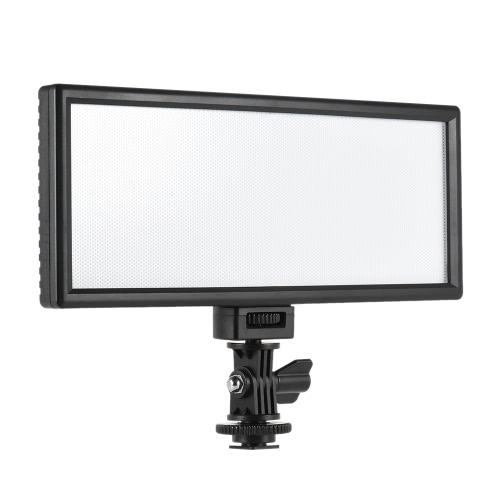 Viltrox L132T Professional Ультратонкий светодиодные лампы видео Фото Fill Light Регулируемая яркость и Dual Color Temp. Максимальная яркость 1065LM 3300K-5600K CRI95 + для Canon Nikon Sony Panasonic DSLR фотоаппаратов и видеокамер