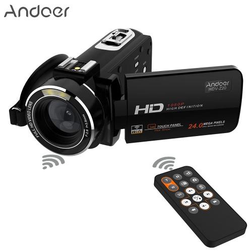 Andoer HDV-Z20 Portable 1080P Full HD Max 24 Mega Pixels 16? Digital Zoom Camcorder with Remote ControlCameras &amp; Photo Accessories<br>Andoer HDV-Z20 Portable 1080P Full HD Max 24 Mega Pixels 16? Digital Zoom Camcorder with Remote Control<br>