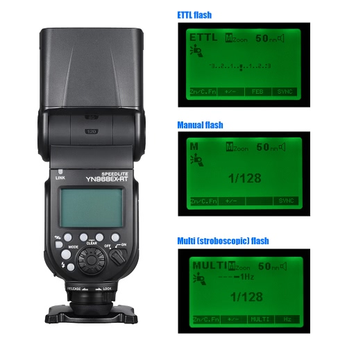 YONGNUO YN968EX-RT Wireless TTL Master Flash Speedlite with Built-in LED Light 1/8000s HSS for Canon 500D 550D 40D 1000D 1100D 120Cameras &amp; Photo Accessories<br>YONGNUO YN968EX-RT Wireless TTL Master Flash Speedlite with Built-in LED Light 1/8000s HSS for Canon 500D 550D 40D 1000D 1100D 120<br>
