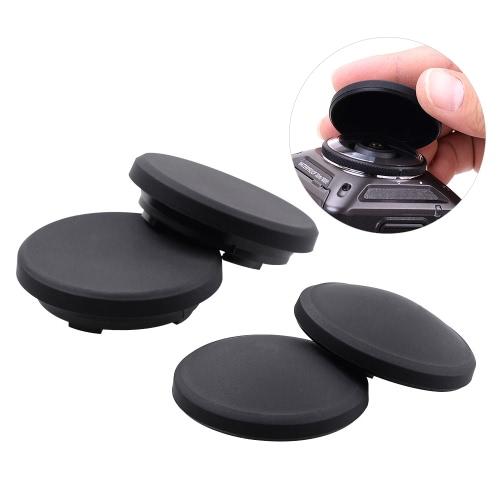 Tapa de la lente de silicona protectora de la lente y Submarinismo Cap para Nikon KeyMission 360 Cámara