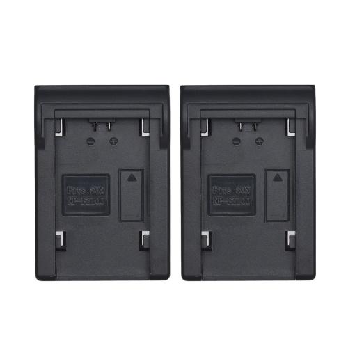 Andoer 2 pcs NP-FZ100 Placa de Bateria para Neweer Andoer Dual / Quatro Canais Carregador de Bateria para Sony A7III A9 A7RIII A7SIII