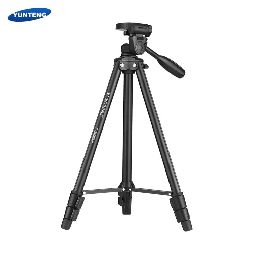 YUNTENG VCT-580 Portable Lightweight Aluminum Alloy Tripod Max. Load 1.5kg with 1/4 Screw Supports 360-degree Panoramic VerticalCameras &amp; Photo Accessories<br>YUNTENG VCT-580 Portable Lightweight Aluminum Alloy Tripod Max. Load 1.5kg with 1/4 Screw Supports 360-degree Panoramic Vertical<br>