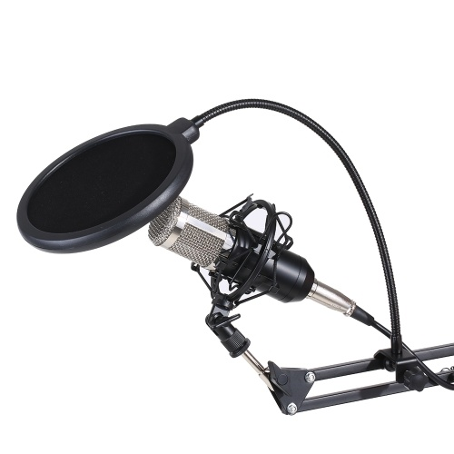 Professional Studio Transmisión en vivo Transmisión de grabación Micrófono de condensador Kit