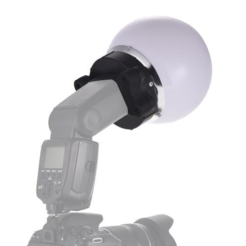 On-camera Flash Diffuser Ball Magnet Adsorption Soft Balls