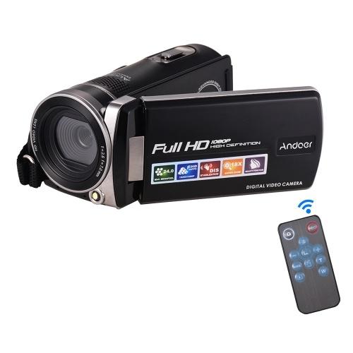 Caméra vidéo numérique Full HD 1080p Andoer F450