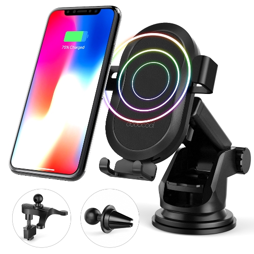 dodocool 10W Fast Wireless Car Charger for Samsung Galaxy Note8/S8/S8 Plus/S7/S7 edge/Note5/S6 edge Plus/iPhone X/8 Plus/8 and OthCellphone &amp; Accessories<br>dodocool 10W Fast Wireless Car Charger for Samsung Galaxy Note8/S8/S8 Plus/S7/S7 edge/Note5/S6 edge Plus/iPhone X/8 Plus/8 and Oth<br>