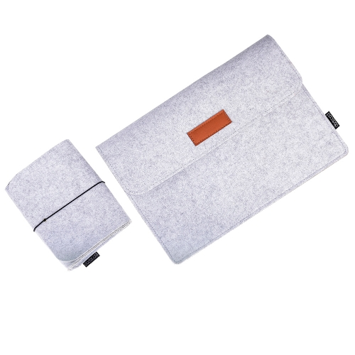 dodocool 12 Inch Laptop Felt Sleeve Envelope Cover Ultrabook Carrying Case Notebook Protective Bag with Mouse Pouch for 12 AppleComputer &amp; Stationery<br>dodocool 12 Inch Laptop Felt Sleeve Envelope Cover Ultrabook Carrying Case Notebook Protective Bag with Mouse Pouch for 12 Apple<br>