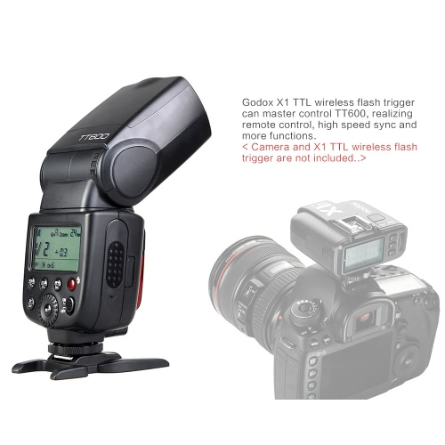 Godox Thinklite TT600 Camera Flash Speedlite Master/Slave Flash with Built-in 2.4G Wireless Trigger System GN60 for Canon Nikon PeCameras &amp; Photo Accessories<br>Godox Thinklite TT600 Camera Flash Speedlite Master/Slave Flash with Built-in 2.4G Wireless Trigger System GN60 for Canon Nikon Pe<br>