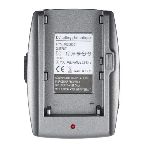 Батарея адаптер пластина база для BMPC BMCC BMPCC для Sony NP-F970 F750 F550 батареи с DC кабели