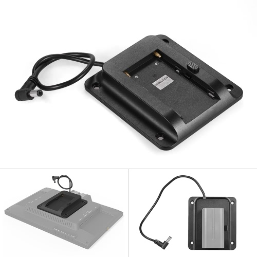 Battery Adapter Base Plate Battery Plate for Lilliput FEELWORLD Andoer Monitor Compatible for Sony NP-F970 F550 F770 F970 F960 F75Cameras &amp; Photo Accessories<br>Battery Adapter Base Plate Battery Plate for Lilliput FEELWORLD Andoer Monitor Compatible for Sony NP-F970 F550 F770 F970 F960 F75<br>