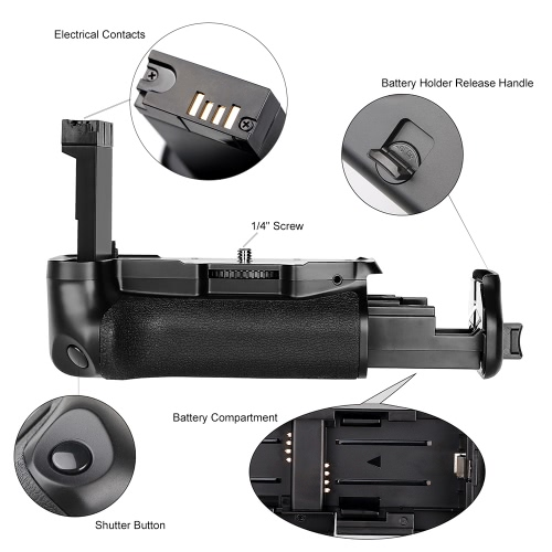 Vertical Battery Grip Holder for Canon EOS 800D/ Rebel T7i/ 77D DSLR Camera Work with One or Two LP-E 17 BatteryCameras &amp; Photo Accessories<br>Vertical Battery Grip Holder for Canon EOS 800D/ Rebel T7i/ 77D DSLR Camera Work with One or Two LP-E 17 Battery<br>