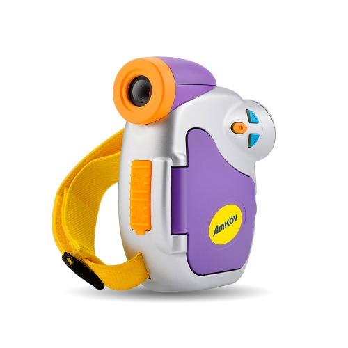 Amkov 1,44 pouces DV-C7 1080P enfants Kid caméra vidéo numérique