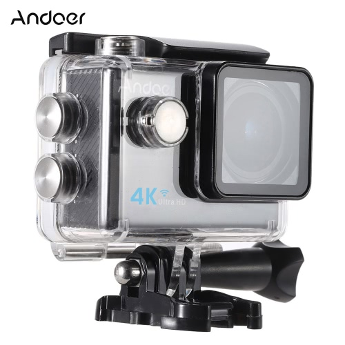 Andoer? Ultra HD Action Sports Camera 2.0 LCD 16MP 4K 25FPS 1080P 60FPS 4X Zoom WiFi 25mm 173 Degree Wide-Lens Waterproof 30M CarCameras &amp; Photo Accessories<br>Andoer? Ultra HD Action Sports Camera 2.0 LCD 16MP 4K 25FPS 1080P 60FPS 4X Zoom WiFi 25mm 173 Degree Wide-Lens Waterproof 30M Car<br>