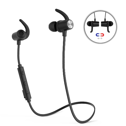 dodocool Magnetic Wireless Stereo Sports In-Ear Headphone with HD Mic CVC 6.0Video &amp; Audio<br>dodocool Magnetic Wireless Stereo Sports In-Ear Headphone with HD Mic CVC 6.0<br>