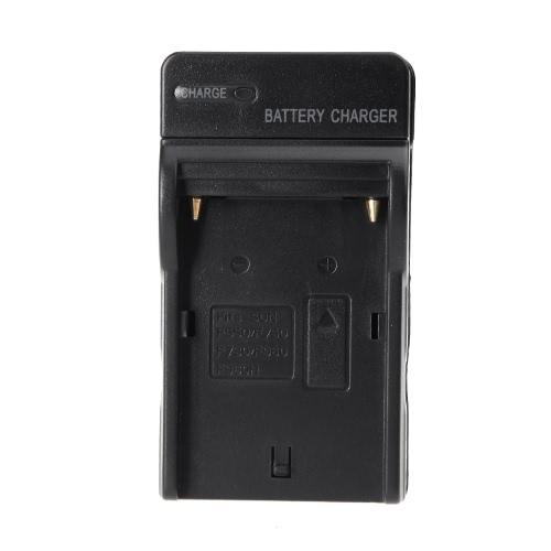 Adaptador de carregador AC bateria para Sony NP-F960 NP-F970 NP-F770 NP-F550