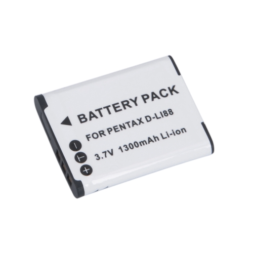 3.7V 1300mAh D-LI88 LI88 Battery for PENTAX Optio P70 Sanyo VPC-CG10 NewCameras &amp; Photo Accessories<br>3.7V 1300mAh D-LI88 LI88 Battery for PENTAX Optio P70 Sanyo VPC-CG10 New<br>