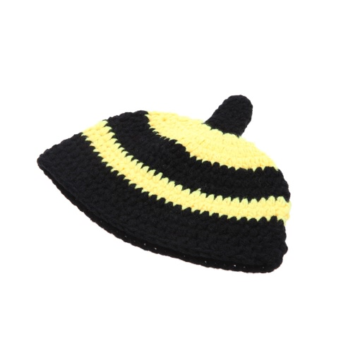 Baby Infant Little Bee Crochet Knitting Costume Soft Adorable Clothes Photo Photography Props for 0-6 Month NewbornCameras &amp; Photo Accessories<br>Baby Infant Little Bee Crochet Knitting Costume Soft Adorable Clothes Photo Photography Props for 0-6 Month Newborn<br>