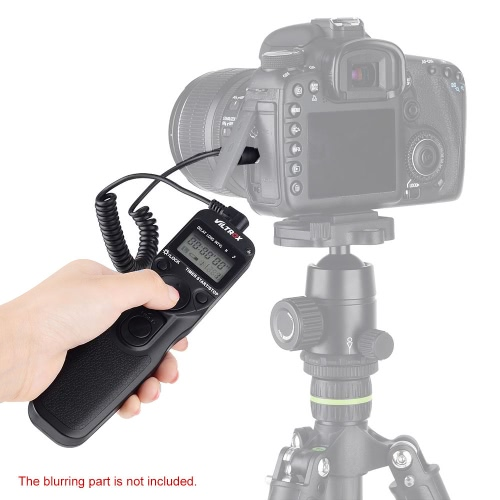 VILTROX LCD Time Lapse Intervalometer Timer Remote Control Shutter with N2 Cable for Nikon D70S D80Cameras &amp; Photo Accessories<br>VILTROX LCD Time Lapse Intervalometer Timer Remote Control Shutter with N2 Cable for Nikon D70S D80<br>