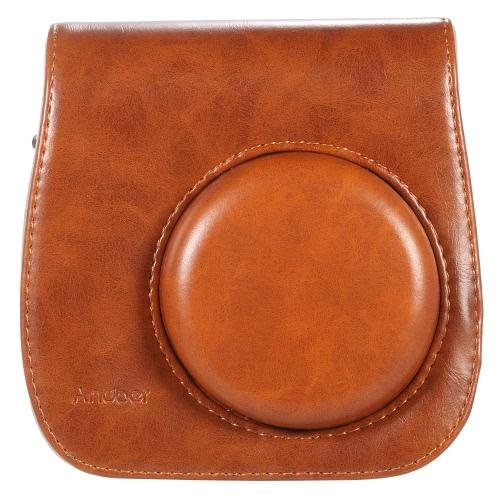 Leather Camera Case Bag Cover for Fuji Fujifilm Instax Mini8 Mini8s Single Shoulder BagCameras &amp; Photo Accessories<br>Leather Camera Case Bag Cover for Fuji Fujifilm Instax Mini8 Mini8s Single Shoulder Bag<br>