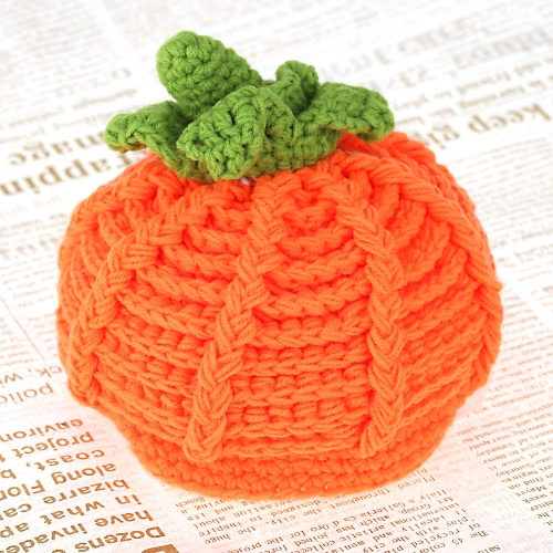 Baby Infant Pumpkin Bernat Hat Cap Crochet Knitting Costume Soft Adorable Clothes Photo Photography Props for NewbornsCameras &amp; Photo Accessories<br>Baby Infant Pumpkin Bernat Hat Cap Crochet Knitting Costume Soft Adorable Clothes Photo Photography Props for Newborns<br>