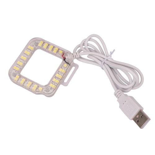 Buy Andoer USB 20 LED Lens Ring Shooting Nightshot Flash Fill Light Lamp New GoPro Hero 4/ 3+/ 3 Standard Waterproof Housing Case