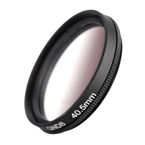 Andeor 40.5 мм круглой формы окончил окончил серый фильтр нейтральной плотности GND8 для Canon Nikon DSLR камеры
