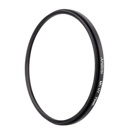 Andoer 72 мм с многослойным покрытием MC ультрафиолетового УФ фильтр объектива протектор для Canon Nikon DSLR камеры