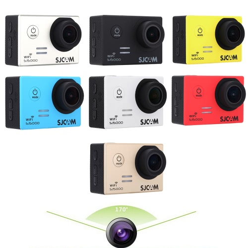 SJCAM SJ5000 Wifi Action Sport Waterproof Camera DV Novatek 96655 14MP 2.0 LCD HD 1080P 30FPS 170 Degree Wide Lens Action CamcordCameras &amp; Photo Accessories<br>SJCAM SJ5000 Wifi Action Sport Waterproof Camera DV Novatek 96655 14MP 2.0 LCD HD 1080P 30FPS 170 Degree Wide Lens Action Camcord<br>
