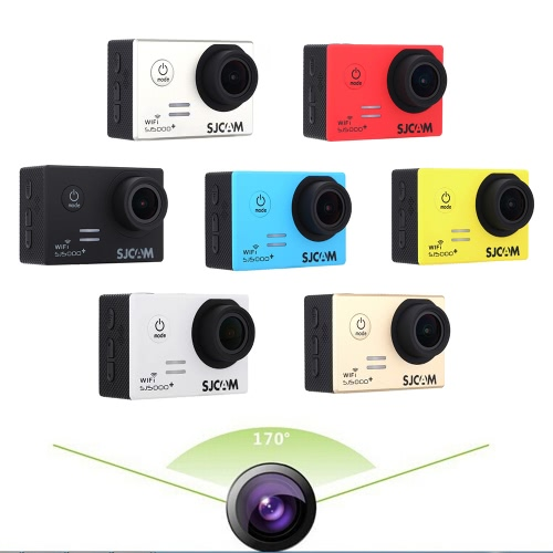 SJCAM SJ5000+ Plus WiFi 30M Waterproof Sport Action Camera Ambarella A7LS75 1080P 60FPS 170 Degree Wide Lens 2.0 LCD Action CamcoCameras &amp; Photo Accessories<br>SJCAM SJ5000+ Plus WiFi 30M Waterproof Sport Action Camera Ambarella A7LS75 1080P 60FPS 170 Degree Wide Lens 2.0 LCD Action Camco<br>