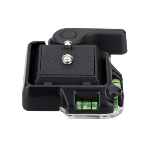 Compacto de liberação rápida montagem plataforma torno + prato de liberação rápida para Giottos MH630 Camera Mount MH7002-630 MH5011