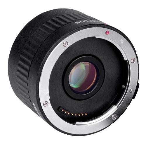 Viltrox C-AF 2 X Teleconverter extensor Auto foco montar lente para Canon EOS EF de la lente para lentes EF de Canon 5D II 7 1200 D 760D 750D cámara réflex digital
