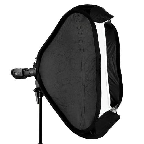 Godox 80 * 80cm / 31 * 31 Flash Softbox Diffuser with S-type Bracket Bowens Holder for Speedlite Flash LightCameras &amp; Photo Accessories<br>Godox 80 * 80cm / 31 * 31 Flash Softbox Diffuser with S-type Bracket Bowens Holder for Speedlite Flash Light<br>