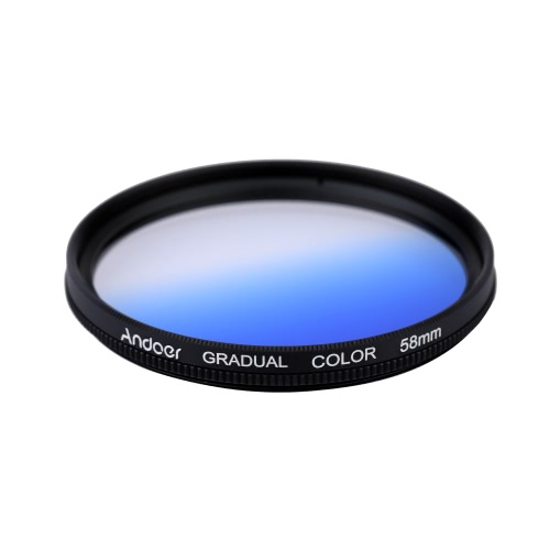 Andoer Professional 58mm GND Graduated Filter Set GND4(0.6) Gray Blue Orange Red Graduated Neutral Density Filter for Canon NikonCameras &amp; Photo Accessories<br>Andoer Professional 58mm GND Graduated Filter Set GND4(0.6) Gray Blue Orange Red Graduated Neutral Density Filter for Canon Nikon<br>