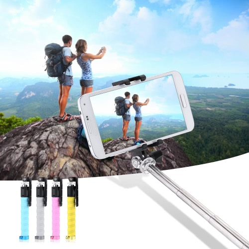 Wireless Bluetooth Extendable Foldable Pocket Remote Shutter Selfie Self-timer Monopod Stick for iPhone Samsung Sony IOS 5.0 AndroCameras &amp; Photo Accessories<br>Wireless Bluetooth Extendable Foldable Pocket Remote Shutter Selfie Self-timer Monopod Stick for iPhone Samsung Sony IOS 5.0 Andro<br>