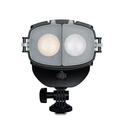 NanGuang CN - 20FC LED fotografia câmera filmadora preenchimento luz vídeo projector de luz 3200-5600K cor ajustável temperatura brilho foco para Canon Nikon Pentax Olympus DSLR