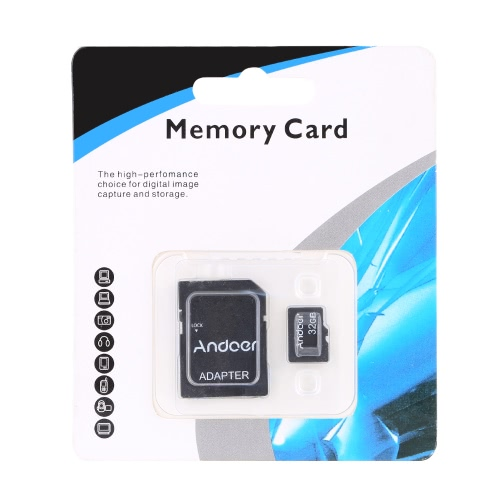 Andoer 32GB Class 10 Memory Card TF Card + Adapter + Card Reader USB Flash Drive for Camera Car Camera Cell Phone Table PC GPSCameras &amp; Photo Accessories<br>Andoer 32GB Class 10 Memory Card TF Card + Adapter + Card Reader USB Flash Drive for Camera Car Camera Cell Phone Table PC GPS<br>