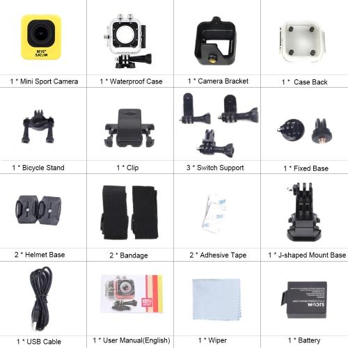 SJCAM M10+ Wifi Mini DV Full HD 2K(2560*1440) 1080P 60fps 12MP Novatek 96660 Diving 30M Helmet Car DVR Outdoor PC Action Sports CaCameras &amp; Photo Accessories<br>SJCAM M10+ Wifi Mini DV Full HD 2K(2560*1440) 1080P 60fps 12MP Novatek 96660 Diving 30M Helmet Car DVR Outdoor PC Action Sports Ca<br>