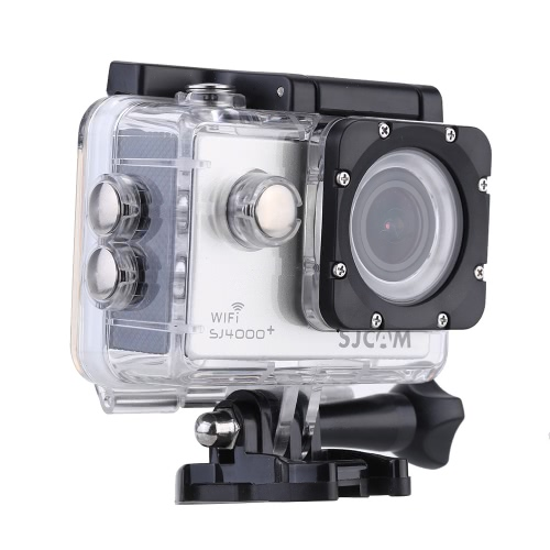 SJCAM SJ4000+ Plus Wifi 2K(2560*1440) 1080P 60fps 12MP Novatek 96660 Waterproof 30M Full HD PC Car Helmet Action Sports Camera DVRCameras &amp; Photo Accessories<br>SJCAM SJ4000+ Plus Wifi 2K(2560*1440) 1080P 60fps 12MP Novatek 96660 Waterproof 30M Full HD PC Car Helmet Action Sports Camera DVR<br>