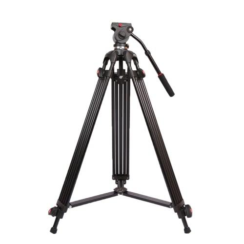 JY0508B 1.8m Складная Телескопическая DSLR Камера Видеокамеры Штатив из Алюминиевого Сплава с  Головкой Демпфирующой Жидкости Подкладкой