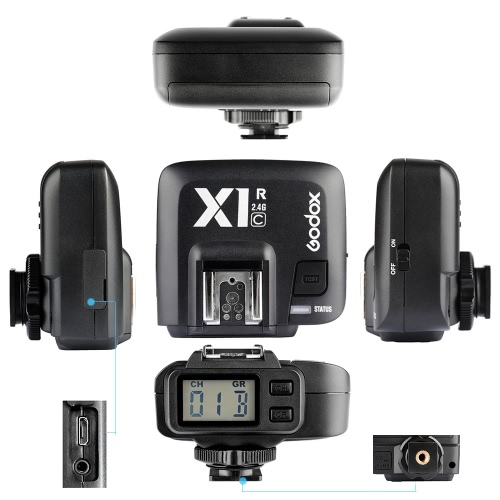 GODOX X1C TTL 1/8000s HSS 32 Channels 2.4G Wireless LCD Flash Strobe Trigger Transmitter Receiver Camera Shutter Release for CanonCameras &amp; Photo Accessories<br>GODOX X1C TTL 1/8000s HSS 32 Channels 2.4G Wireless LCD Flash Strobe Trigger Transmitter Receiver Camera Shutter Release for Canon<br>
