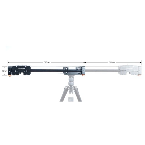 CACAGOO CS-V500 Retractable Video Slider 50cm Dolly Track Stabilizer 1m Actual Sliding Distance Load Up to 8kg for DSLRsCameras &amp; Photo Accessories<br>CACAGOO CS-V500 Retractable Video Slider 50cm Dolly Track Stabilizer 1m Actual Sliding Distance Load Up to 8kg for DSLRs<br>