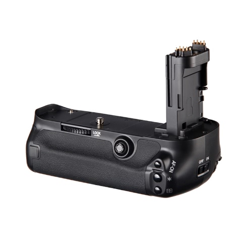 Suporte de punho vertical de bateria para Canon EOS 5D Mark III câmera