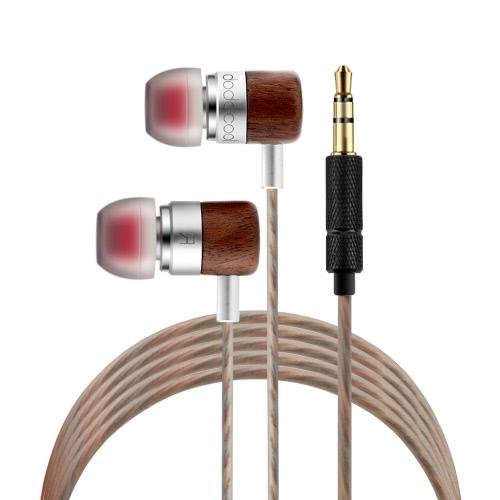 dodocool originale DA36 doppia armatura e dinamico cuffie bilanciato HIFI In-Ear auricolari cablati due unità in movimento ferro bobina Canalphone auricolare oro placcato spina Stereo per iPhone Samsung Tablet MP3