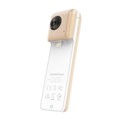 Insta360 Nano Golden Limited Edition Mini 3K HD VR 360° Panoramic Panorama Video Camera Dual 210° Wide Angle Fisheye Lens w/ VR HeCameras &amp; Photo Accessories<br>Insta360 Nano Golden Limited Edition Mini 3K HD VR 360° Panoramic Panorama Video Camera Dual 210° Wide Angle Fisheye Lens w/ VR He<br>