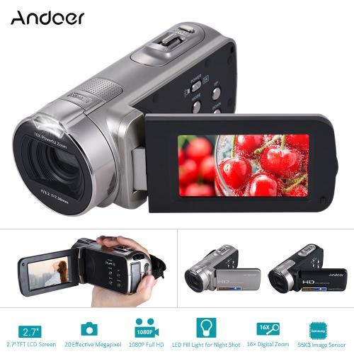 Andoer HDV-312P 1080P Full HD Digital Video CameraCameras &amp; Photo Accessories<br>Andoer HDV-312P 1080P Full HD Digital Video Camera<br>