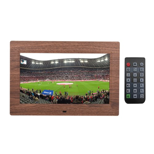 10 LED Digital Picture Photo Frame HD Wide Screen Slideshow Clock Music Video Player with Remote Control 1024*600 High ResolutionCameras &amp; Photo Accessories<br>10 LED Digital Picture Photo Frame HD Wide Screen Slideshow Clock Music Video Player with Remote Control 1024*600 High Resolution<br>