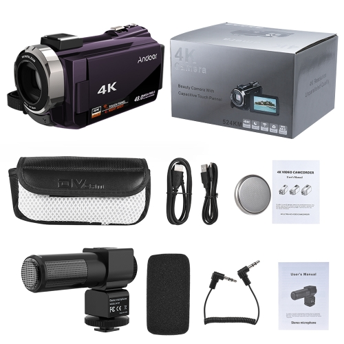 Andoer 524KM 4K 1080P 48MP WiFi Digital Video CameraCameras &amp; Photo Accessories<br>Andoer 524KM 4K 1080P 48MP WiFi Digital Video Camera<br>
