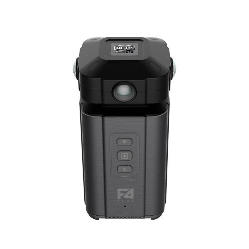 Detu F4 Plus Professional 4 Lenses VR 360�� Camera