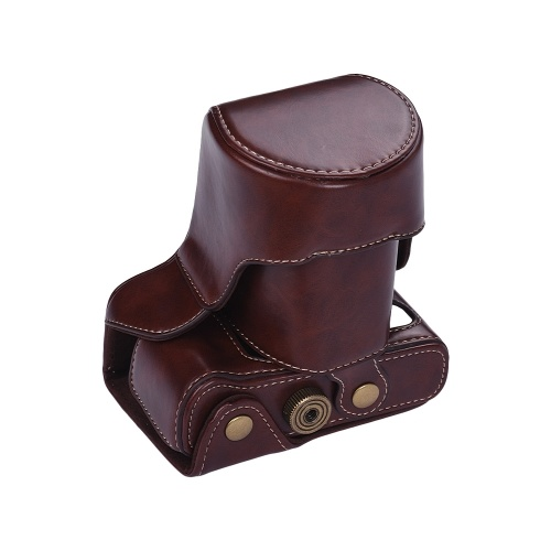 Fujifilm X  -  T20 X  -  T10のための保護レザーカメラケースのバッグのデジタルカメラの革ケース